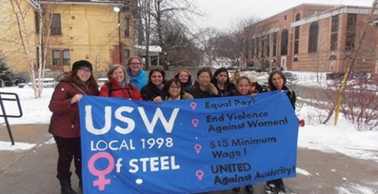 USW women of steel
